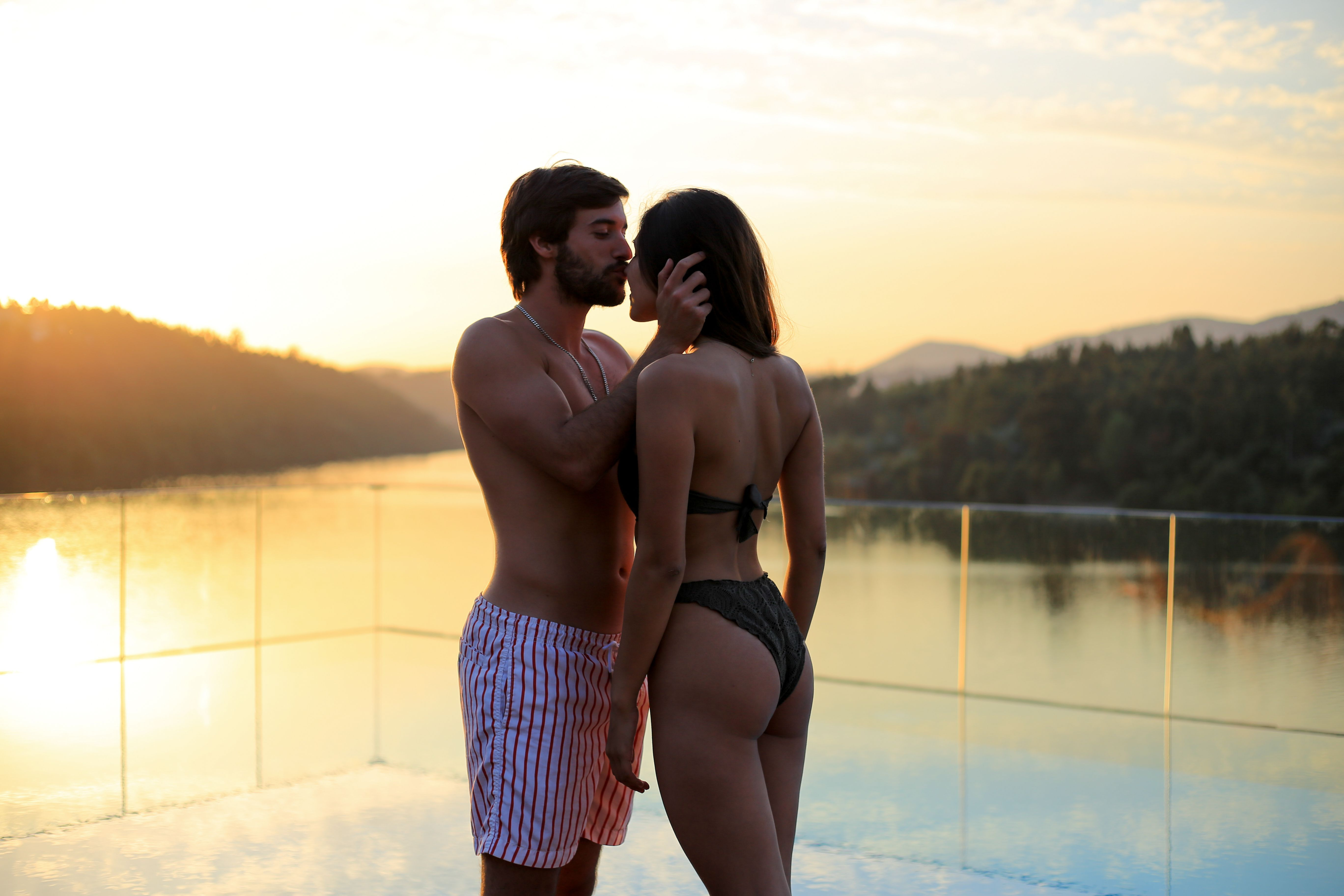 Couple in love. Cool spots in Portugal!