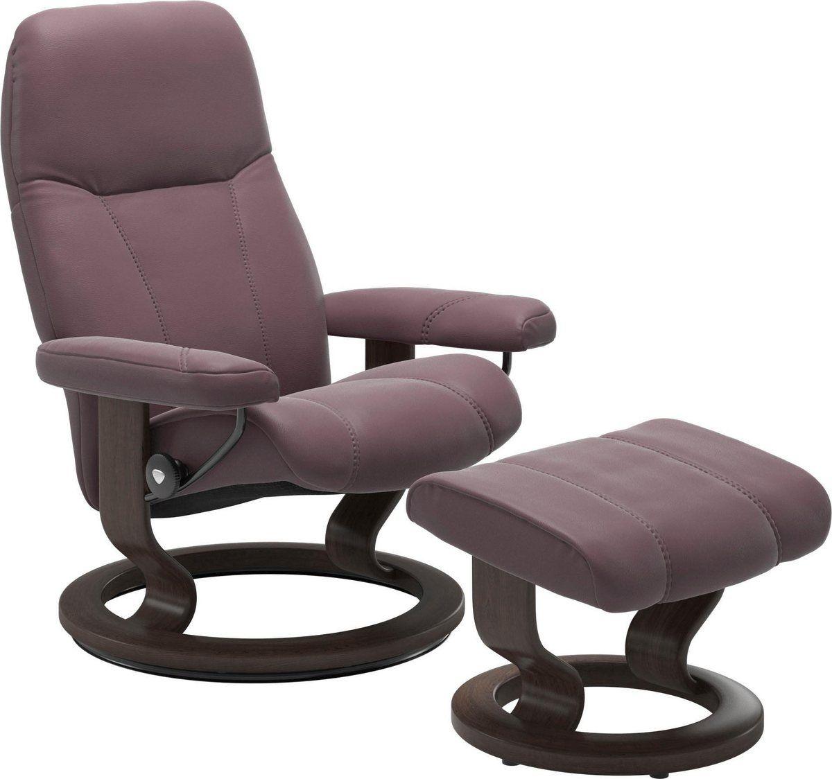 Stressless® Relaxsessel »Consul« (Set), mit Hocker, mit