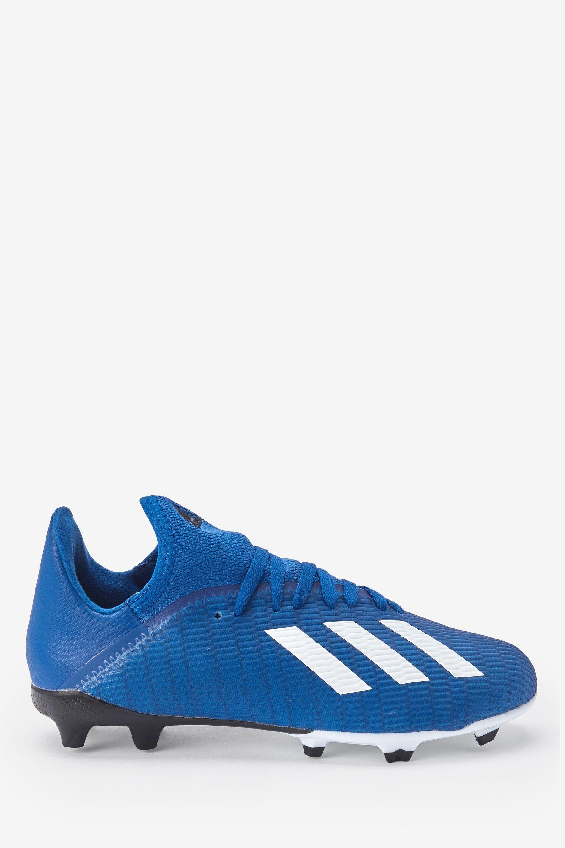 Boys adidas navy p3 x fg junior youth football boots