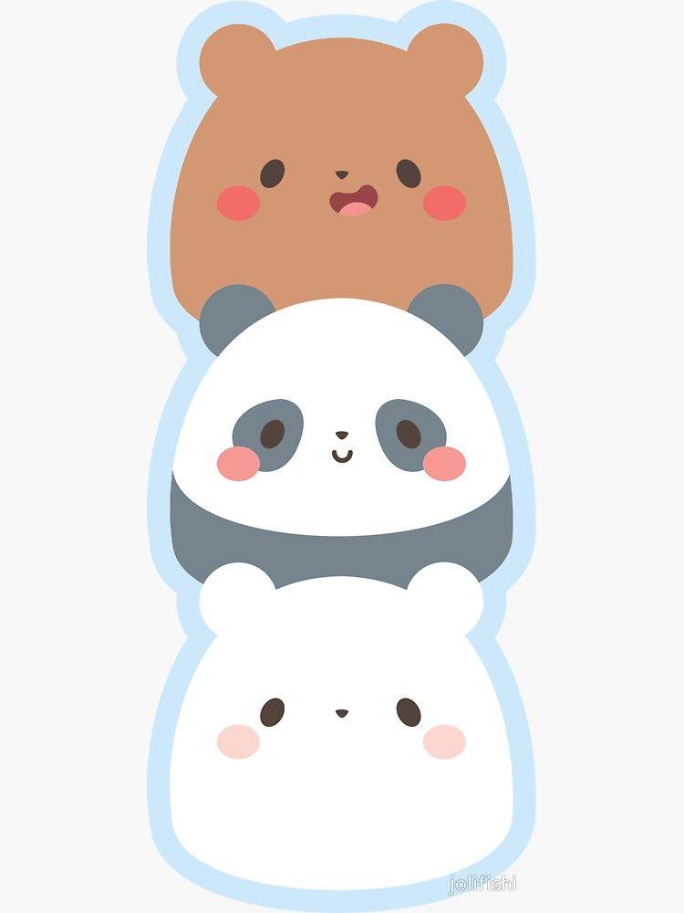 We Bare Gumdrop Bears Sticker by jolifishi