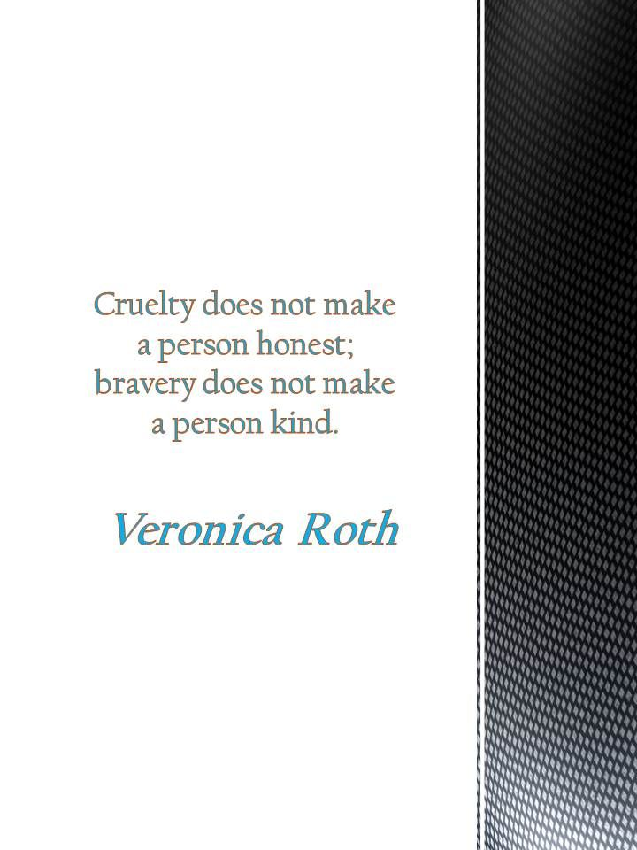 Quotes by Veronica Roth