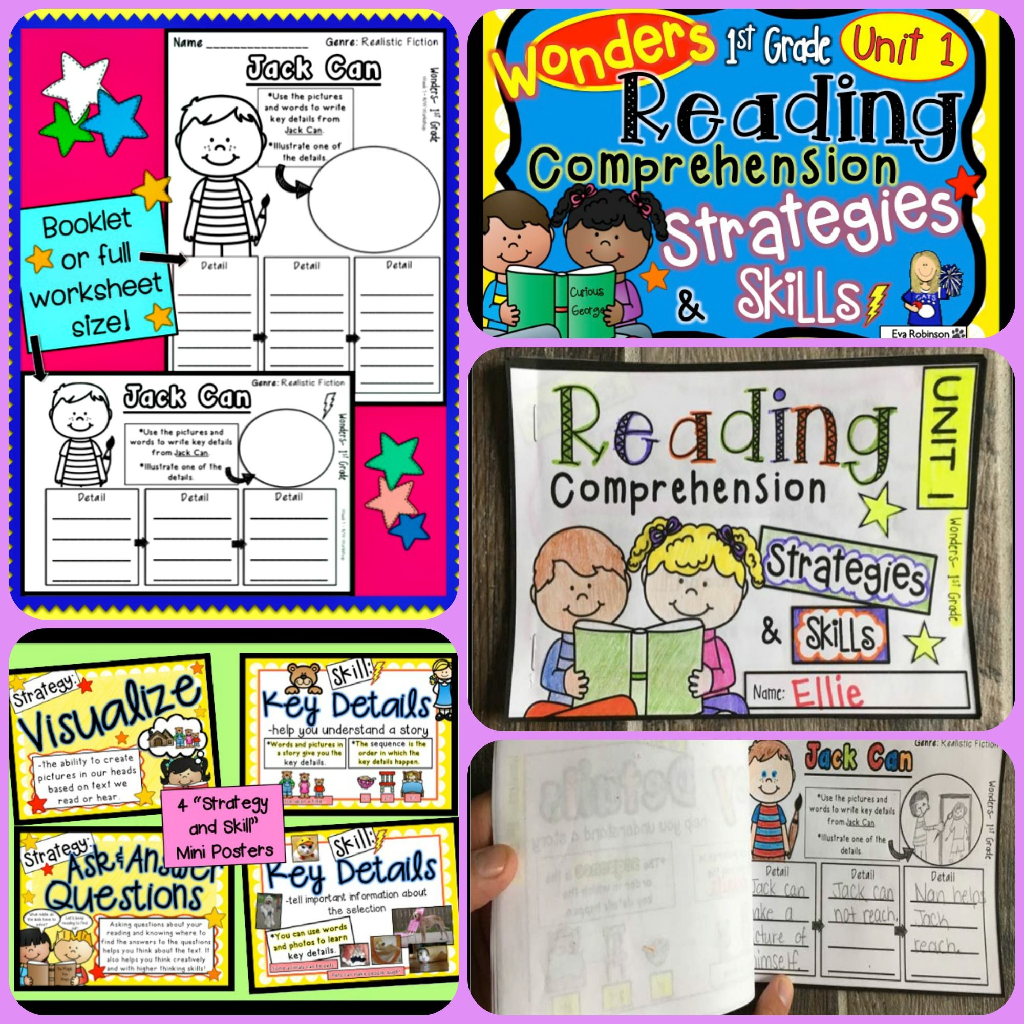 Wonders 1st Grade Reading Comprehension Strategies And