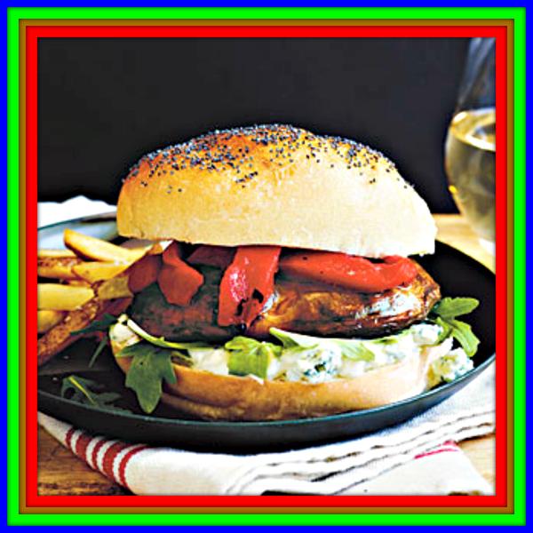 Portobello Cheeseburgers Recipe 49 Credits The Recipe