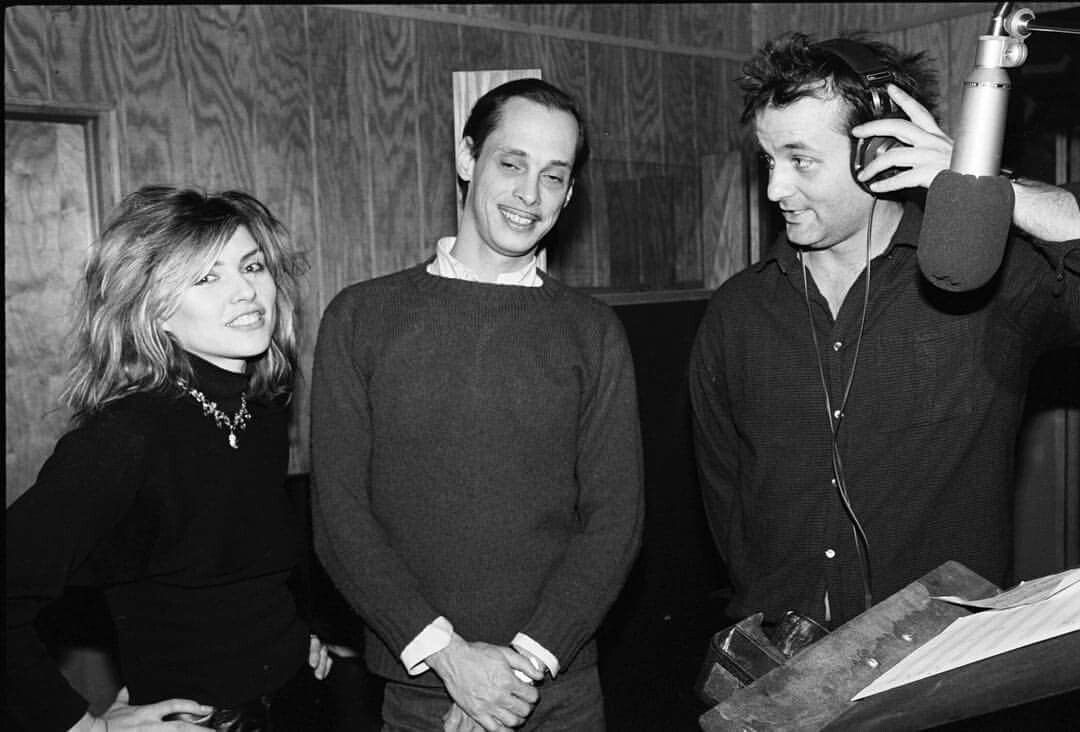 Debbie w John Waters and Bill Murray #polyester
