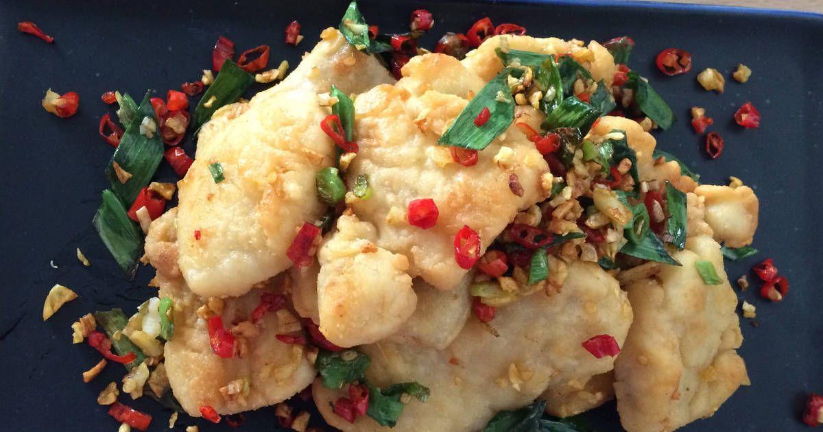 Resep Ikan Dori Lada Garam Oleh Fahmiaw Resep Resep Ikan Resep Seafood Makanan Sehat