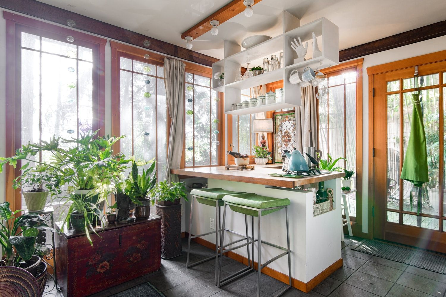 This 450 Square Foot Apartment Is Incredibly Bright Despite Being At Basement Level Small Basement Design Small Basement Apartments Basement Apartment