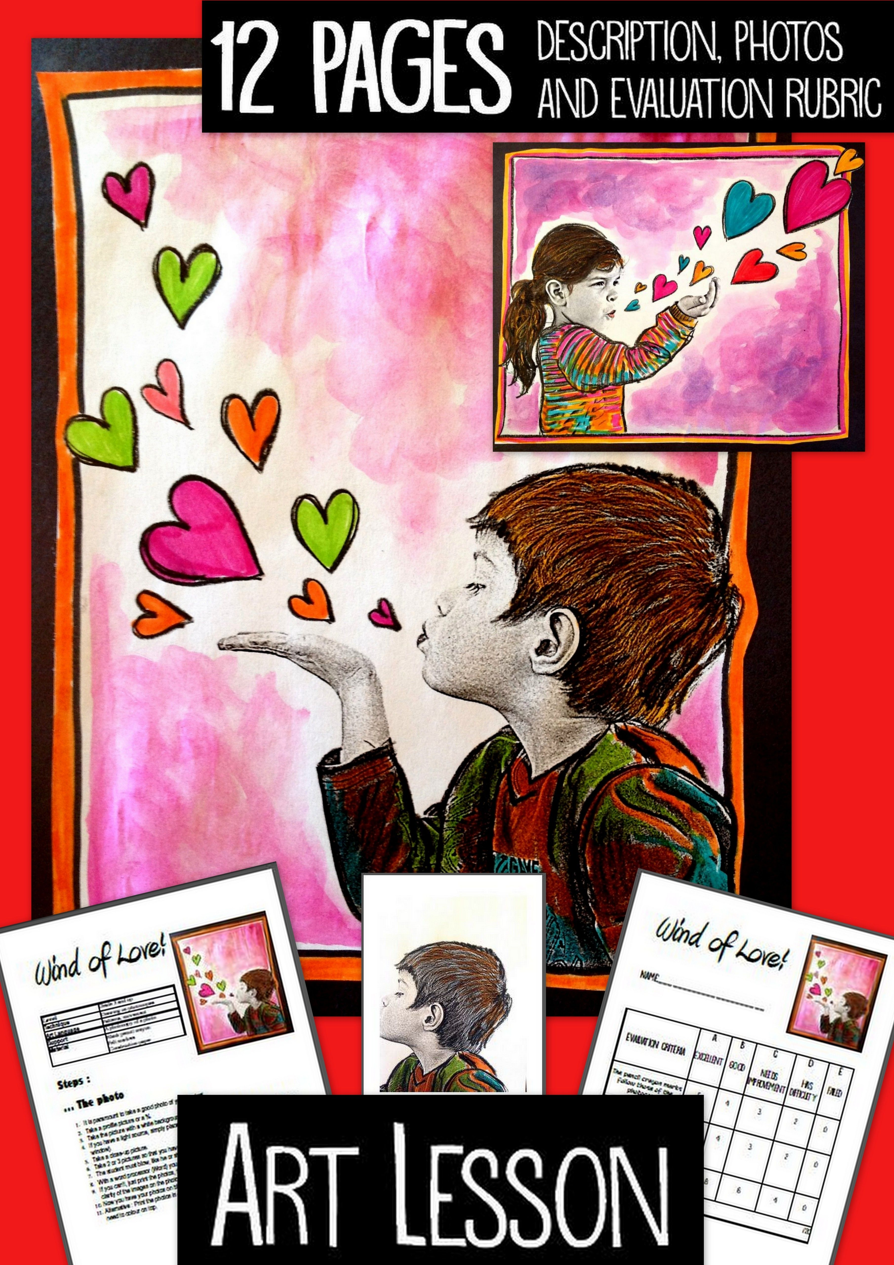 Art Activity And Lesson Plan For Kids Wind Of Love