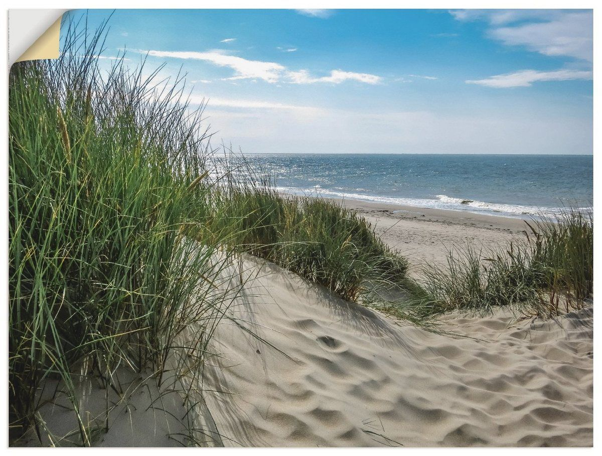 Photo of Artland Premium wall film »S. Herppich: Dune landscape in the summer North Sea « OTTO