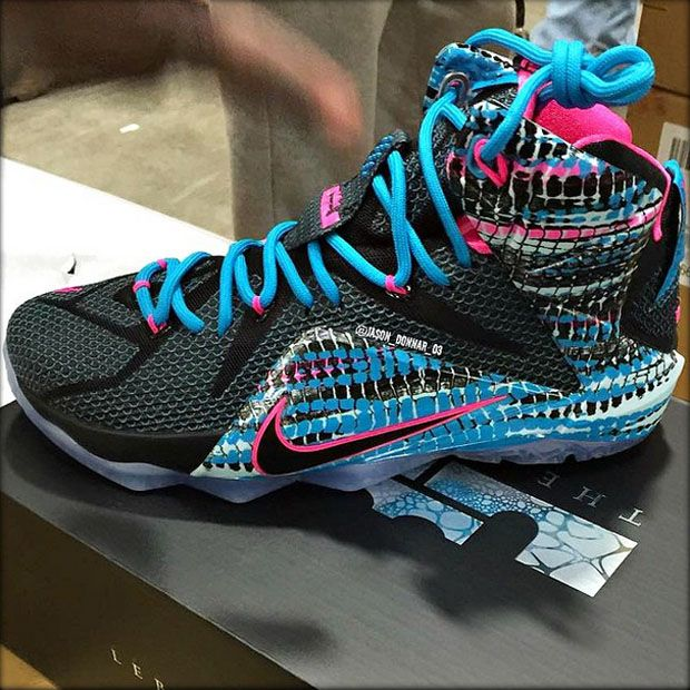 bdf3c64a439 We re deading the Nike LeBron 12 South Beach callout right now. LeBron s  back in Cleveland