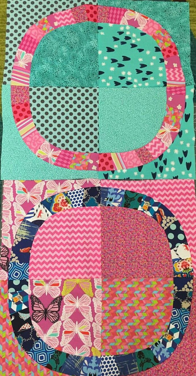 Variation on single girl quilt | modern quilting | Pinterest | Girls ...