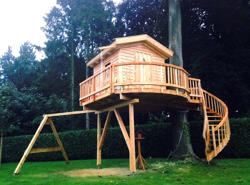 Hamburger Norden · Tree house, Norden, Cool tree houses