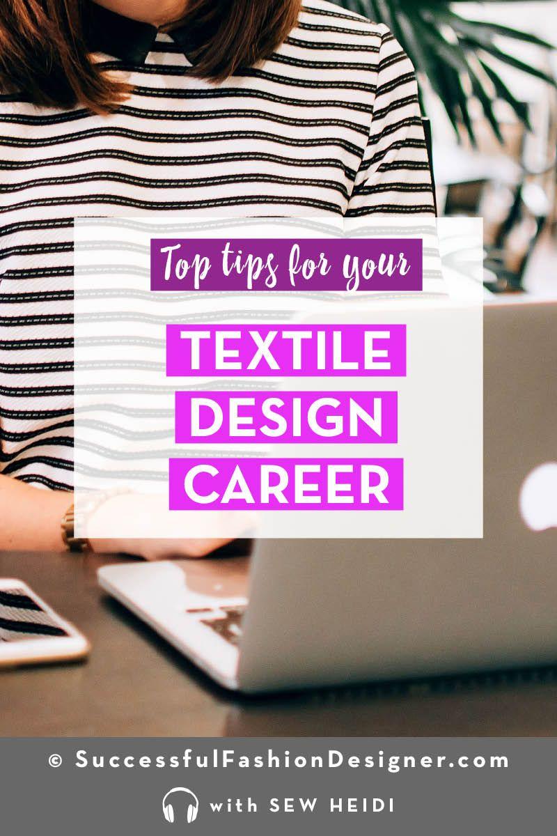 Freelance Textile Designer How To Have A Successful Career Textile Design Portfolio Design Career Fashion Design Jobs