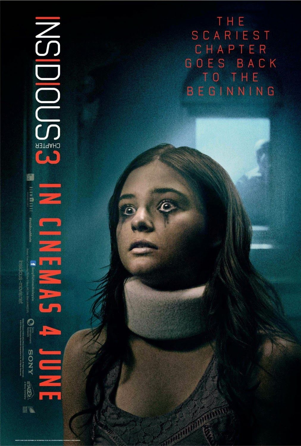 New Insidious Chapter 3 Clip And 5 Posters Insidious Insidious Movie Chapter 3