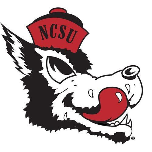 NC State Wolfpack Slobbering Wolf Vault Collection Vinyl Decal