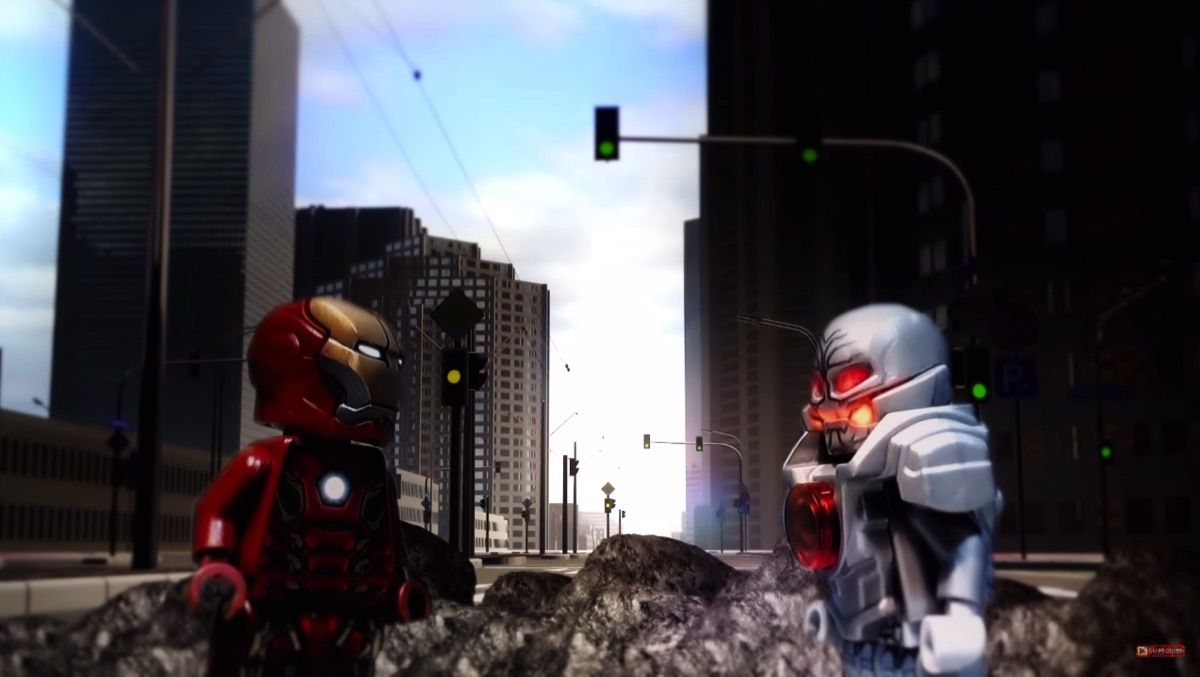 Age of Ultron Gets Lego Treatment in Animated Short