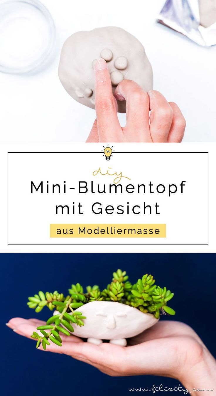 DIY Blumentopf mit Gesicht selber machen – 5 Blogs 1000 Ideen   Filizity.com – DIY Blog aus dem Rheinland