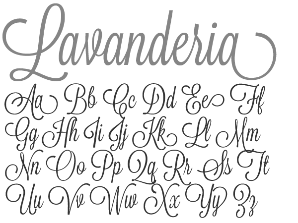 lavanderia font | Typography Tuesday #14 | Matters of Grey | Funky ...