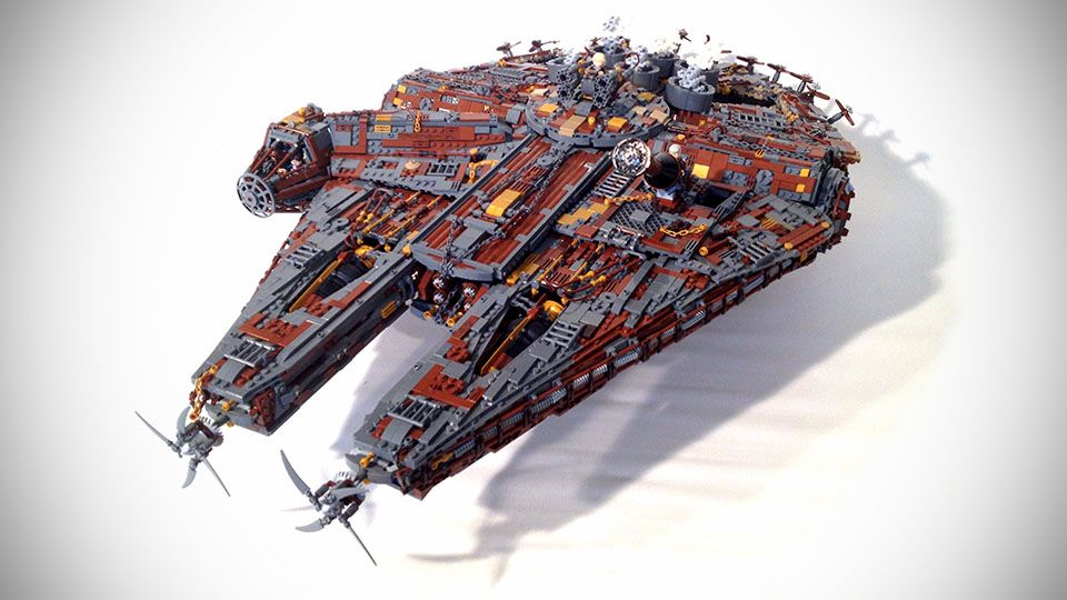 Custom Steampunk LEGO Star Wars Millennium Falcon