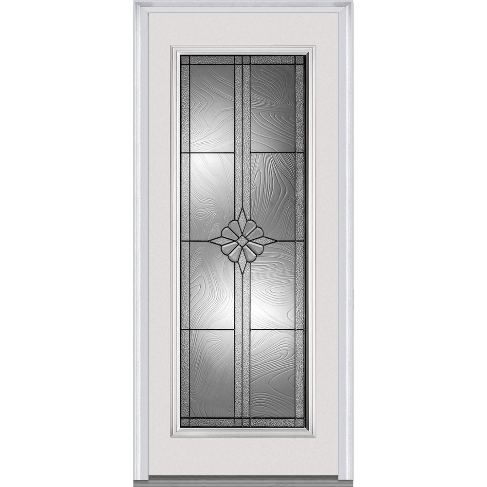 Doorbuild Dahlia Collection Fiberglass Smooth Prehung Door