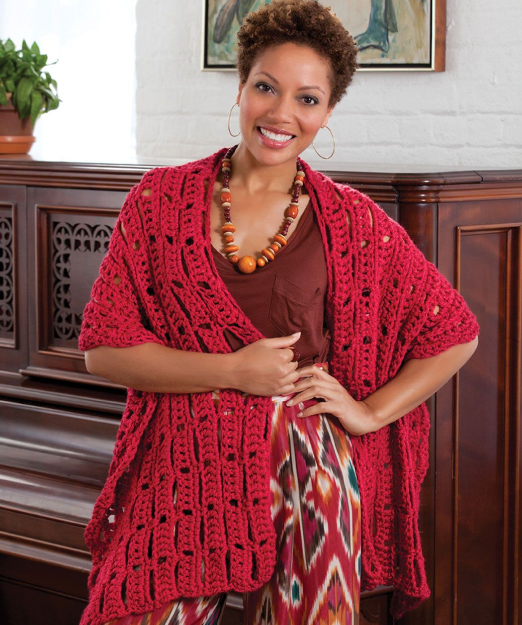 This wrap will accompany you to any occasion, from going to a dance ...