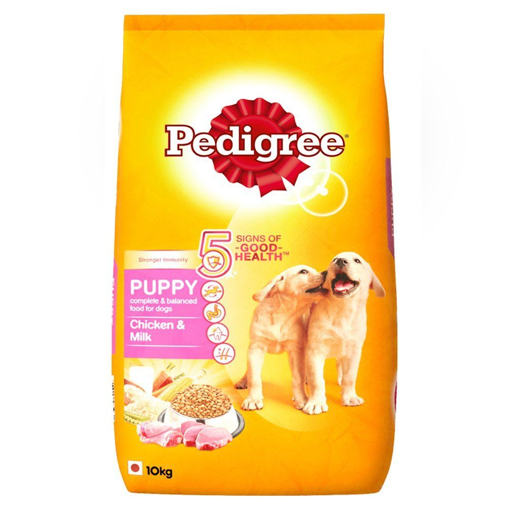 Pedigree Puppy Dog Food Chicken Milk 10 Kg Pack Online Pet