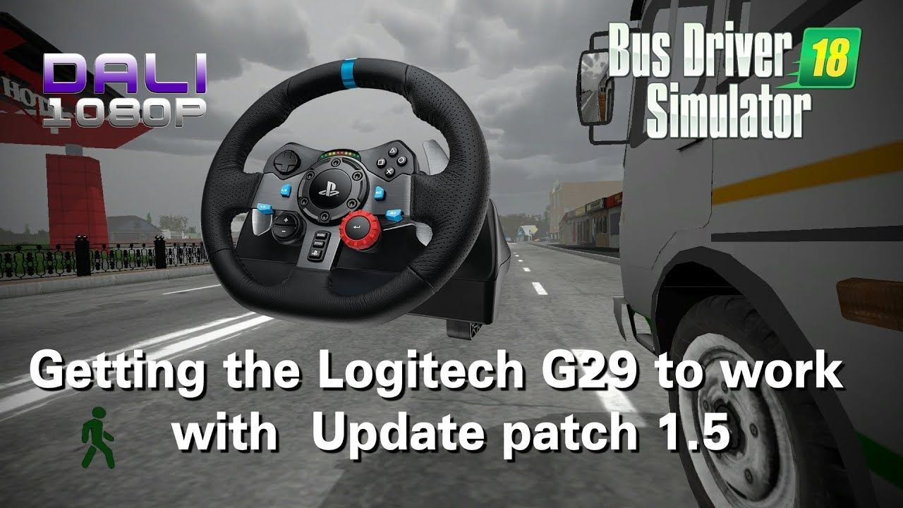 3a94bdfd0e9 I managed to get my Logitech G29 Steering wheel working with the new patch  1.5 update