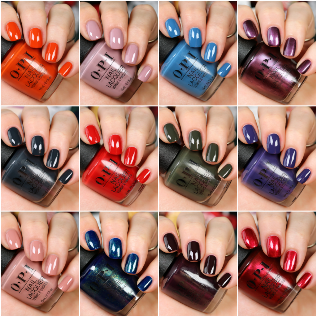 Opi Scotland Collection Fall 2019 In 2020 Nail Polish Colors Fall Fall Nail Colors Opi Opi Nail Colors