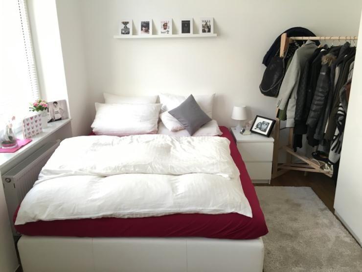 Attrayant Kleine, Aber Sehr Gemütliche Schlafzimmeridee. Wunderschöne Möblierte  2 Zimmer Im Herzen Der Quadrate   Wohnung In Mannheim Quadrate