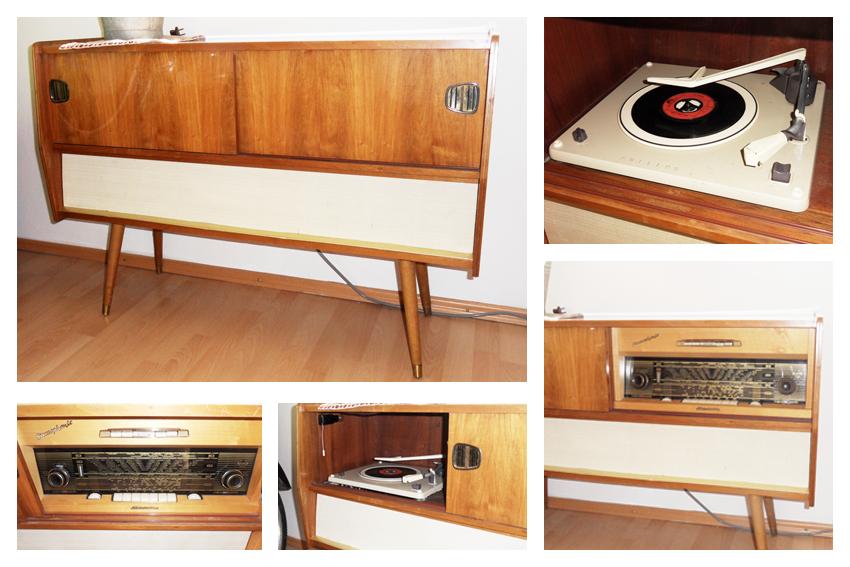 Phonoschrank Musikschrank 50er 60er Jahre Phonoschrank Schrank 60er Jahre