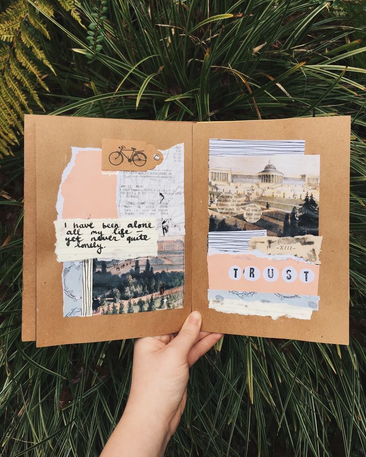 travel art journal Memories