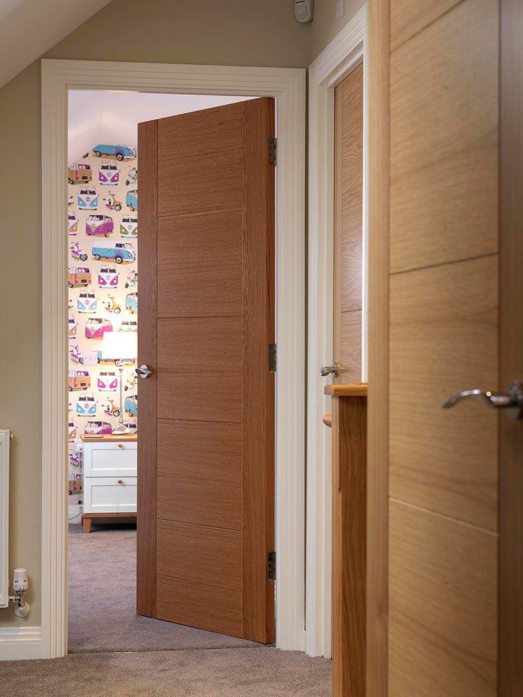 Amazing Looking Pre Finished Oak Internal Door The Jb Kind Tigris