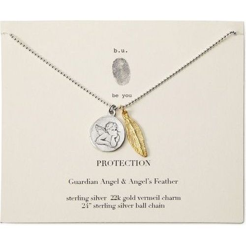 14K Yellow Gold-plated 925 Silver Let Go /& Let God Saying Pendant with 30 Necklace Jewels Obsession Saying Necklace