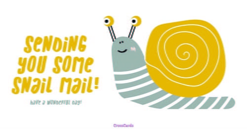 Send this FREE Snail Mail eCard to a friend or family member!  Send free Just For Fun ecards to your friends and family quickly and easily on CrossCards.com. Share an animated Just For Fun eCard or a cute and funny ecard with your family and friends, it's easy!  Find that perfect Just For Fun card, add a personalized message, then press send!  That's all it takes to brighten the day of a friend with a FREE eCard!  CrossCards.com – Free Christian inspired online greeting cards.