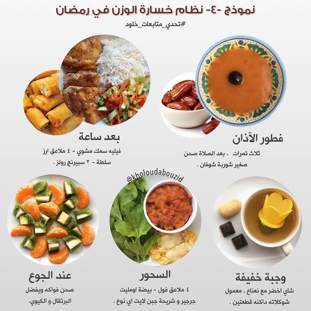 السلام عليكم ورحمة الله وبركاته نموذج من نماذج صيام رمضان وباقي نماذج كثير راح تنزل لكن بإذن الله Health Facts Food Health Eating Health Fitness Food