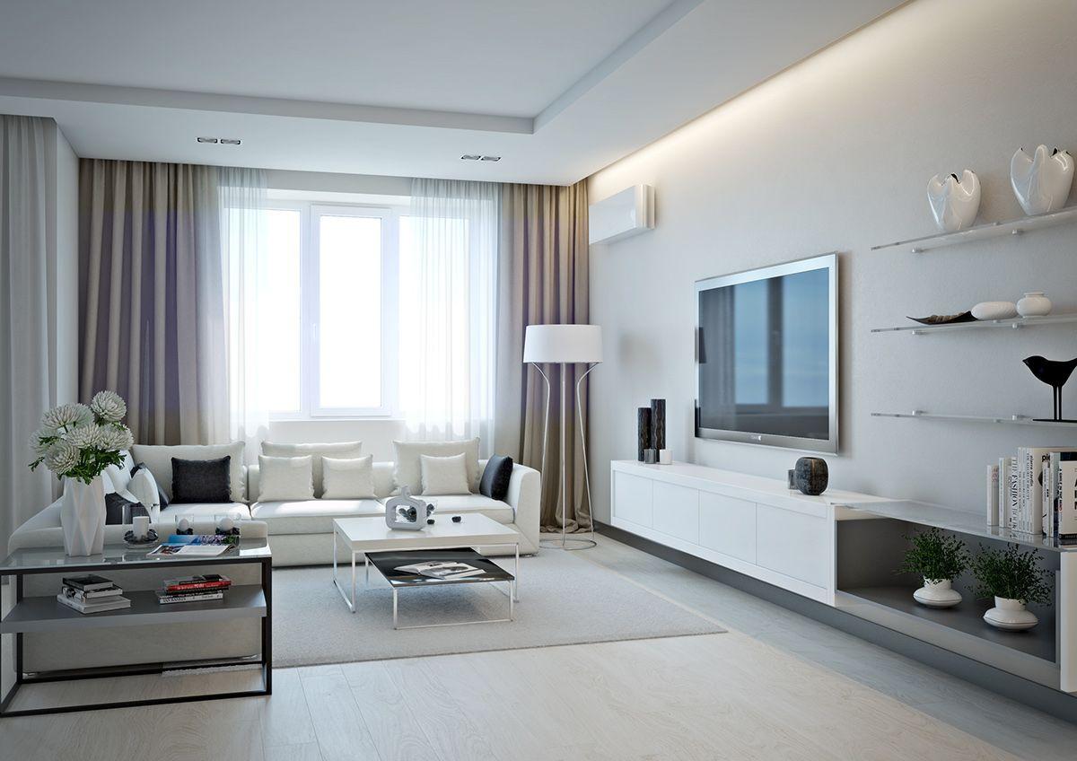 Innenarchitektur wohnzimmer für kleine wohnung  ideas for a one bedroom apartment with study includes floor plans