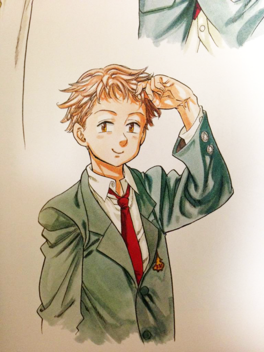 King illustration from color art book