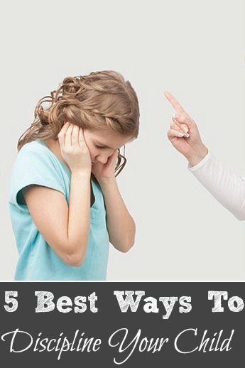 5 Best Ways To Discipline Your Child #Parenting