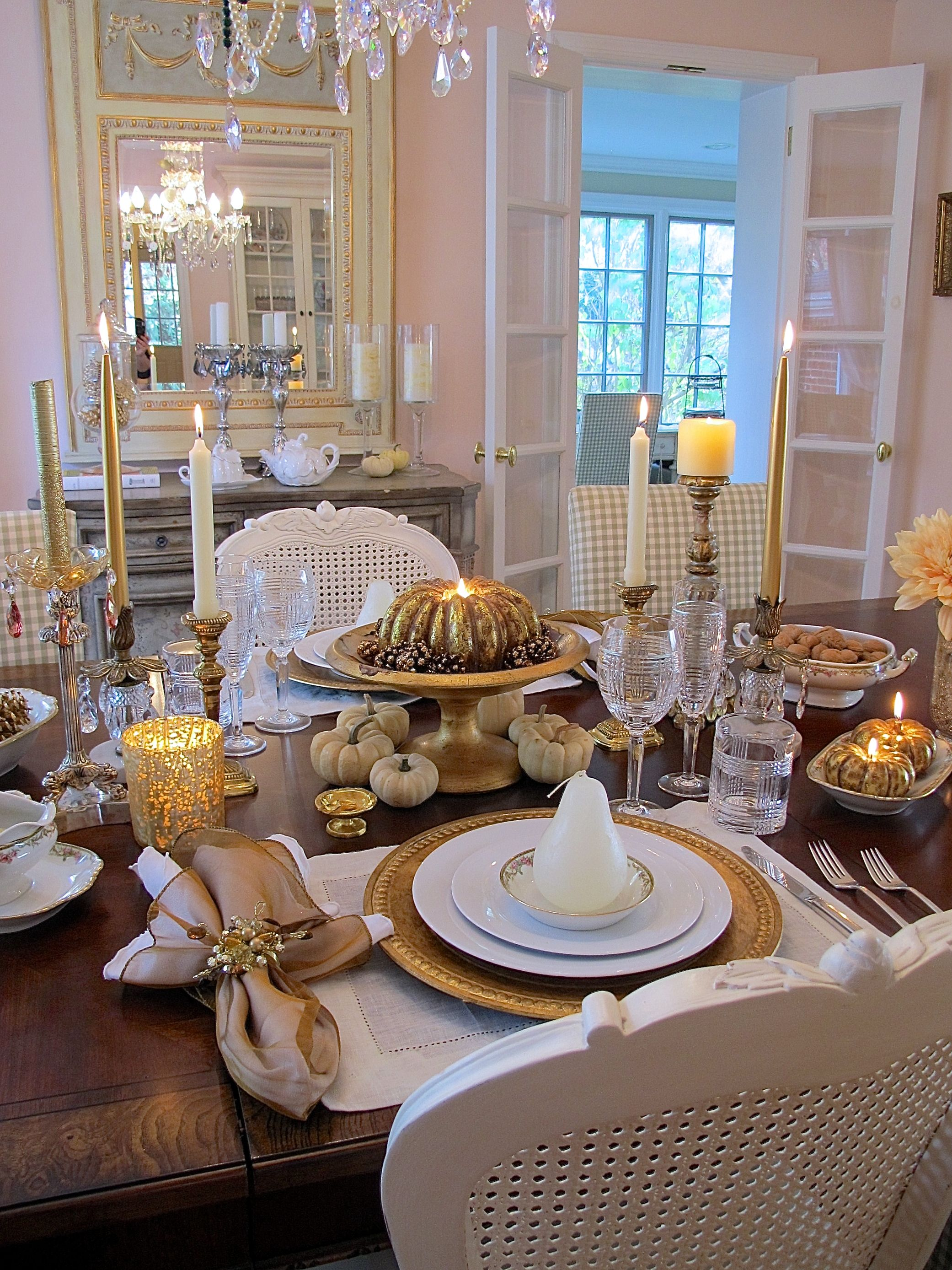 Fall Entertaining A Romantic Thanksgiving Dinner For Two