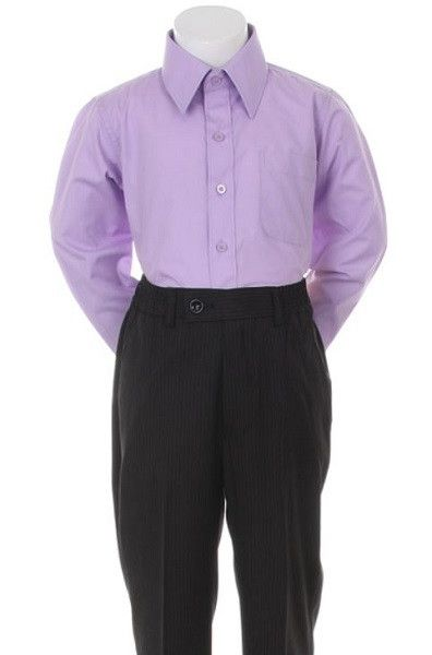 cb592d5b6 Boys  Lilac Formal Dress Shirt