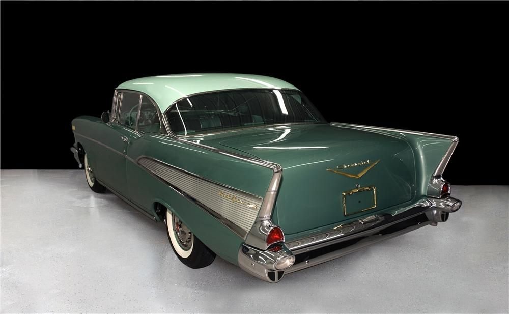 1957 Chevy Bel Air Highland Green Google Search Chevrolet Bel Air Bel Air