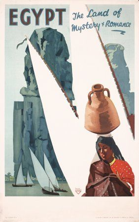 Egypt Travel Poster