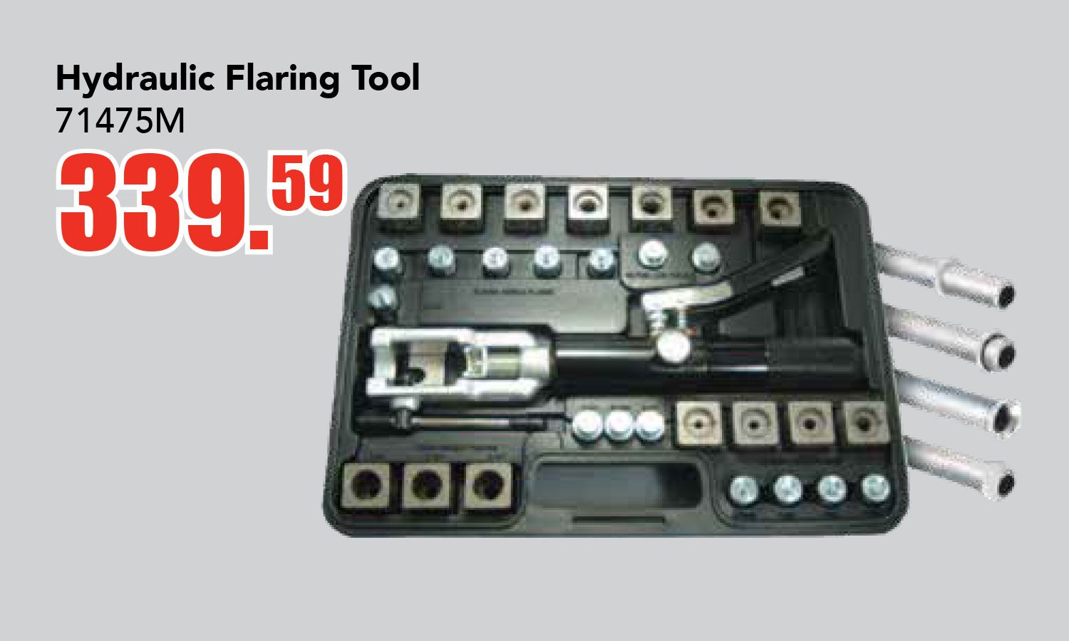 Get A Hydraulic Flaring Tool For Only 339 59 Ea This Sale Runs Until March 31 2018 Features Production Quali Business Pins Discount Auto Parts Hydraulic