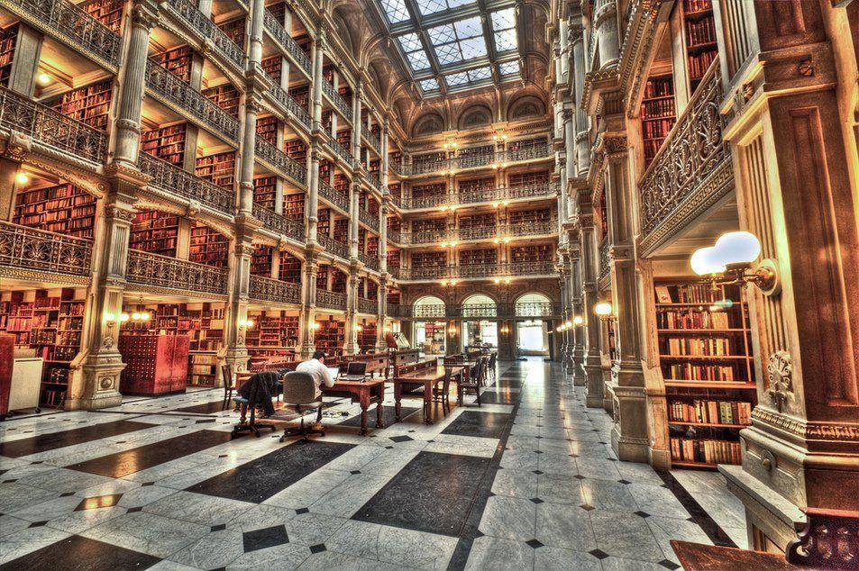Biblioteca George Peabody, EUA