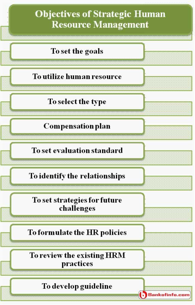 Technology Management Image: Objectives Of Strategic Human Resource Management