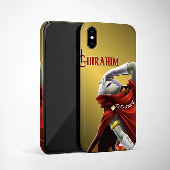 Zelda Ghirahim Gold Wallpapers iPhone XS Max Case