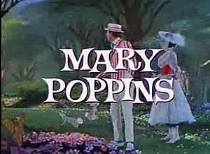 Pelicula Mary Poppins, con Dick Van Dyke y Julie Andrews, dos tremendos actores integrales en la escena :)
