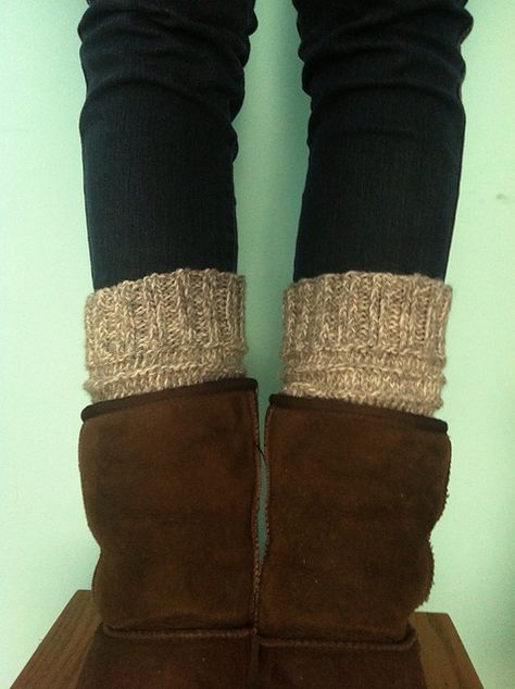 Ravelry Easy Knit Boot Cuffs Pattern By Carrissa Knox Knitting