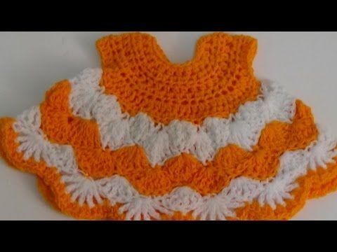 22cd50f52a8d video 1 crochet sparkle cotton baby girl spring summer dress ...