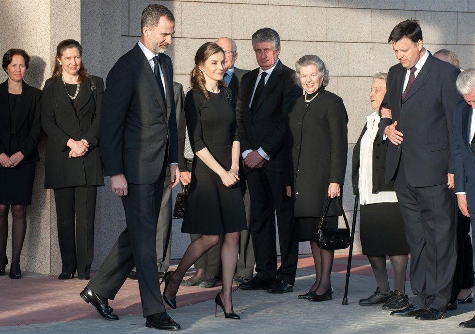 29 march 2017 king felipe and queen letizia attend the