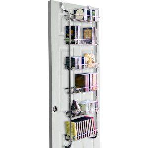 Overdoor Storage For Kitchen Pantry